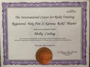 training holy fire kahuna reiki